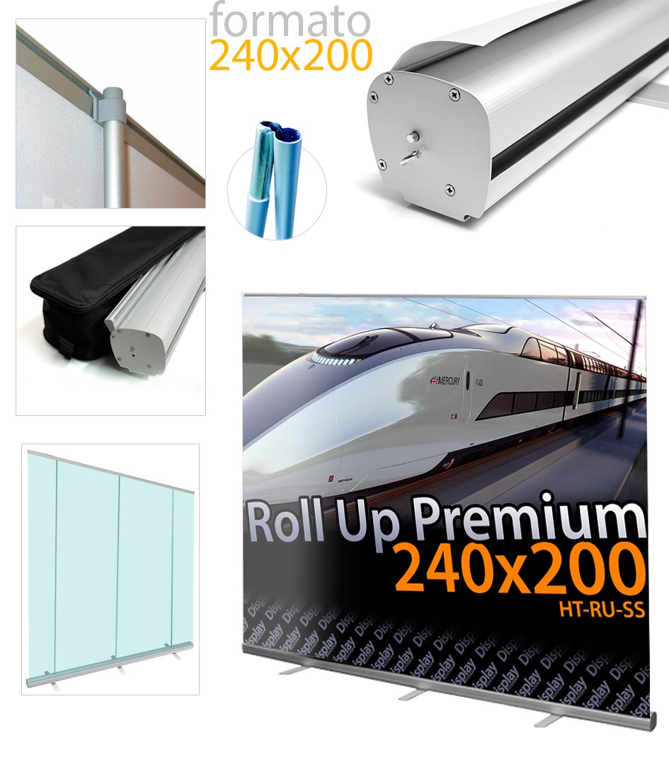 Banner Roll Up 240×200