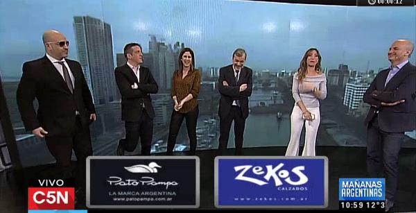 Zocalo publicitario, canal C5N